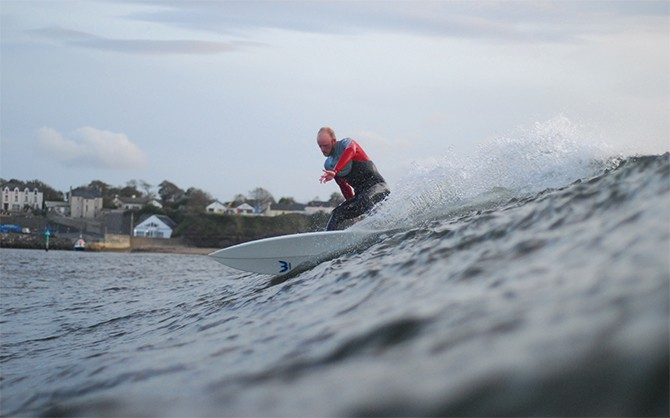 Surfing in Bundoran 2 by Matt Hill