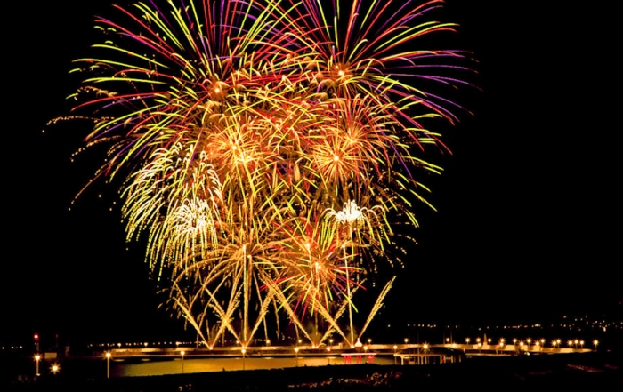 Arrangements for Weekend Fireworks Display